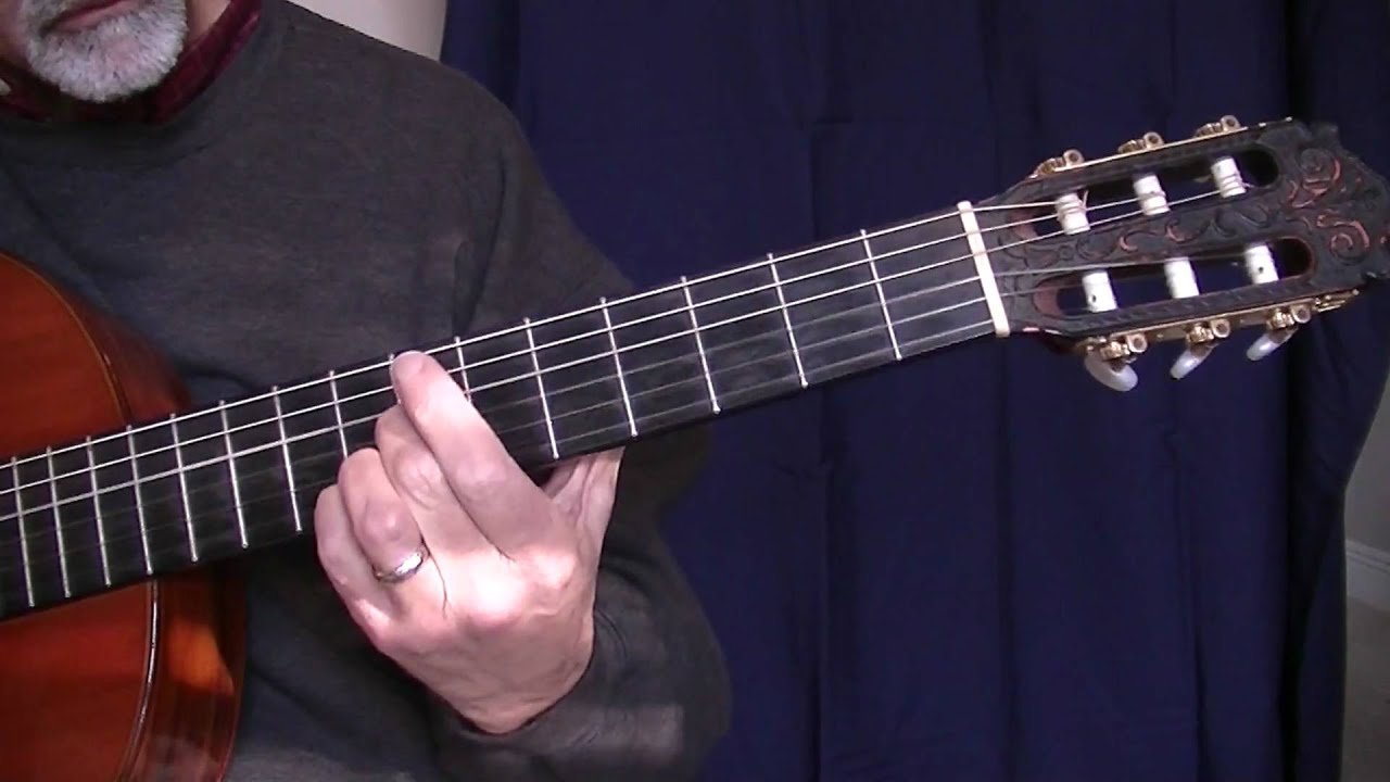 The Old Rugged Cross Fingerstyle Guitar Chords Chordify