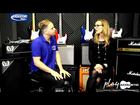 TC Helicon Play Acoustic NAMM 2015