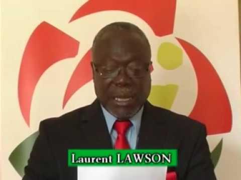 Laurent Lawson Premier Secrétaire du Parti Social Démocrate du Togo