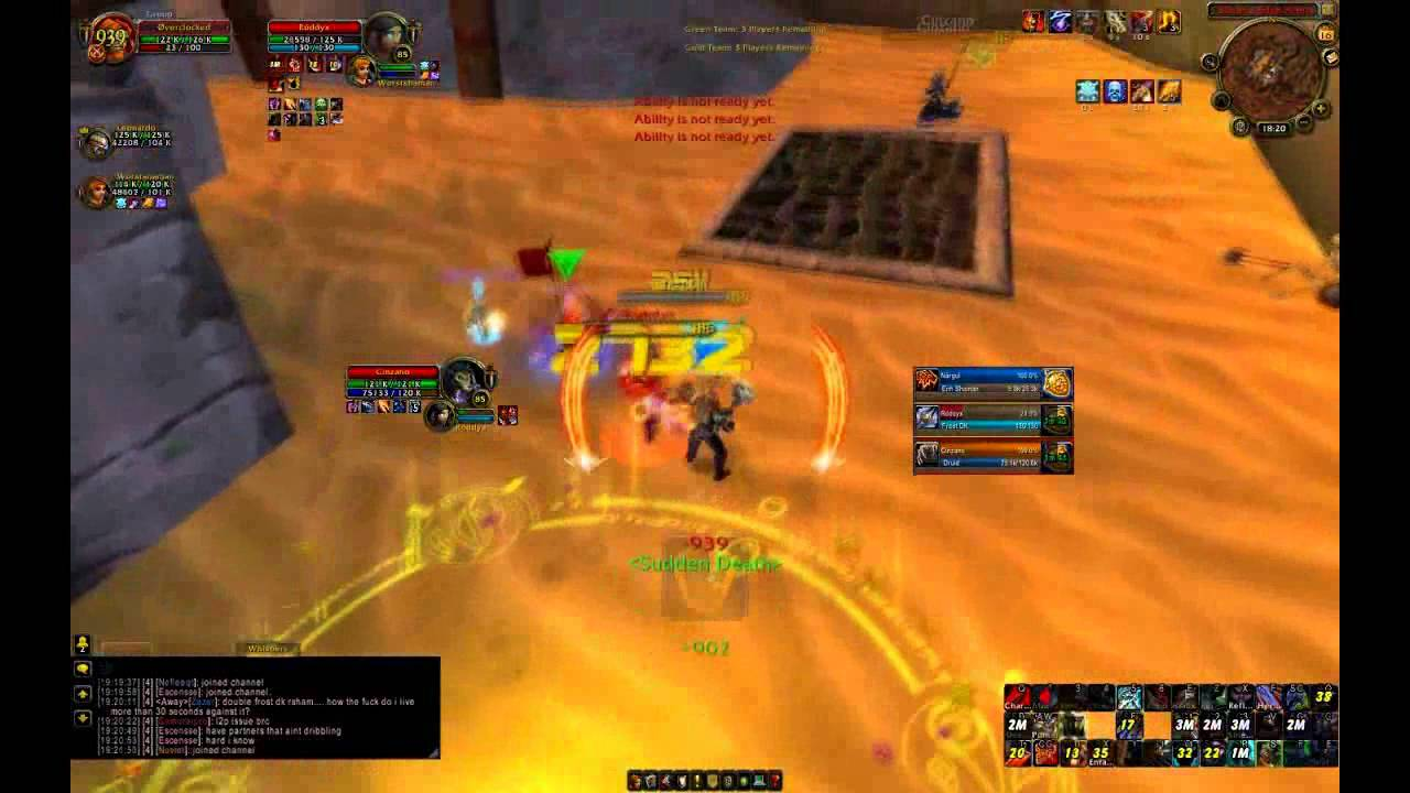 F/R Glad Overclocked VII Warrior PvP Part 2