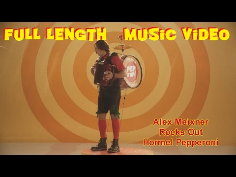 Alex Meixner Rocks Out The Hormel Pepperoni Commercial - One