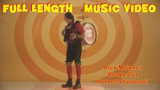 Alex Meixner Rocks Out The Hormel Pepperoni Commercial - One Man Pep Band - Pepperoni Guy