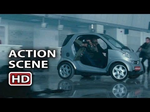 "The Expendables 2 Action Scene ""The Smart Car"""