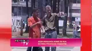Te Peguei na TV: Público se assusta com falso cadáver em saco