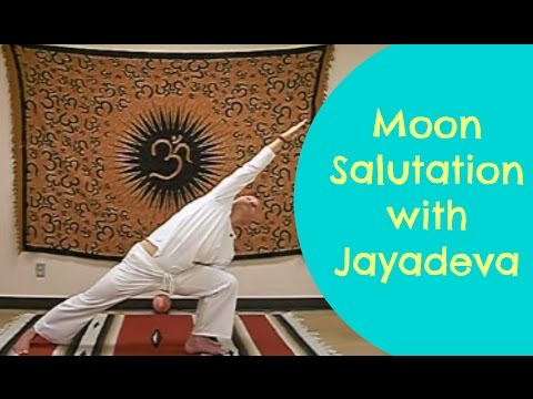 Hatha Yoga Sequence: Moon Salutation with Jayadeva