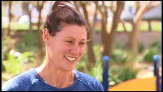 Cheryl Salisbury - former Matildas football captain - ABC News story