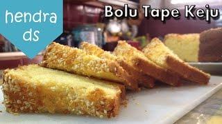 Bolu Tape - Resep Bolu Tape (Bolu Tape Keju Mantap)