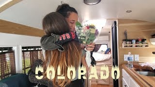 VISITING FRIENDS IN COLORADO! // Lucky bus goes to Denver