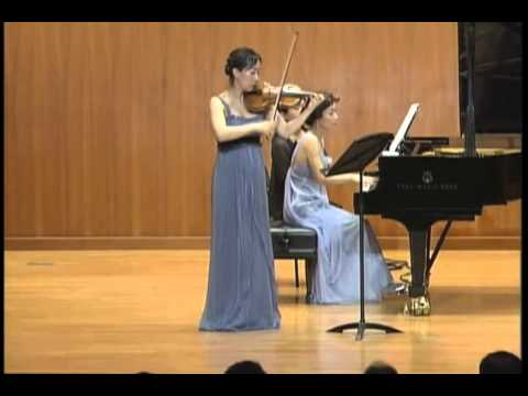 Brahms, Ⅲ Un poco presto e con sentimento, Sonata for Piano and Violin No.3 in D Minor, Op.108