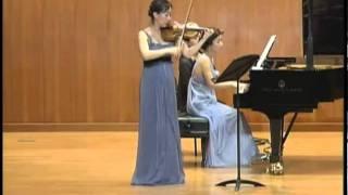 Brahms, Ⅲ Un poco presto e con sentimento, Sonata for Piano and Violin No.3 in D Minor, Op.108