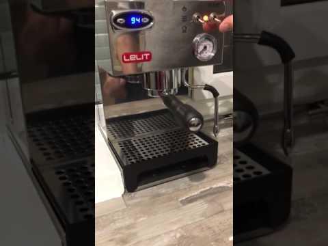 Lelit 41TEM Espresso machine backflush
