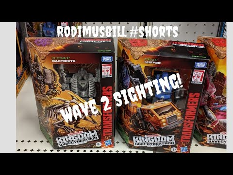 Kingdom Deluxe Huffer & Ractonite Found in Target Rodimusbill New Toy Sighting