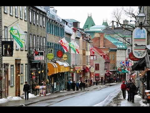 Rue St Jean Street - Quebec City Canada