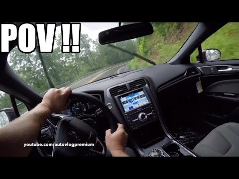 2017 Ford Fusion SPORT POV ! The fastest Ford Fusion ever made !