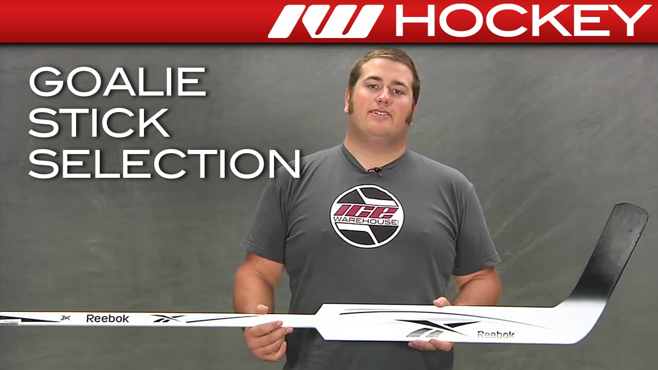How To Select A Hockey Goalie Stick Youtube
