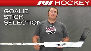 How to Select a Hockey Goalie Stick