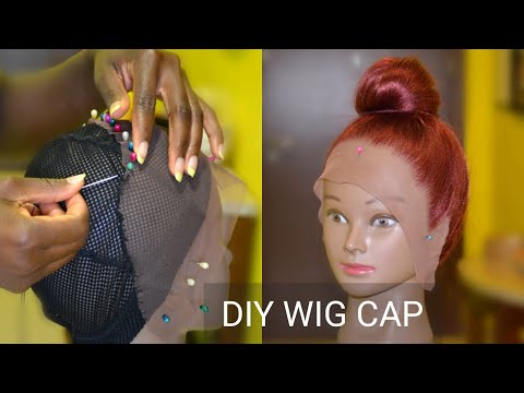 DIY: Lace Front Wig Cap For Crochet Braids Wig | Vivian Beauty And Style