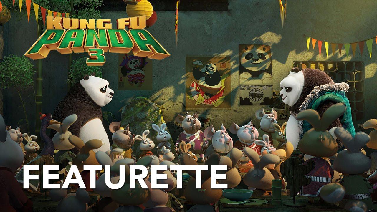 Kung fu panda 3 una featurette e uno spot italiani cinema