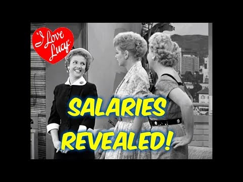 I Love Lucy!--REVEALING: How much did the actors/celebrities get paid?