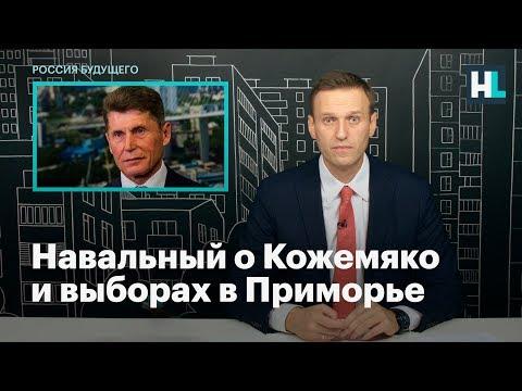 Навальный о Кожемяко и выборах в Приморье