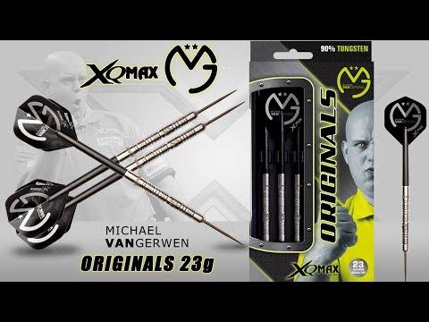 XQ MAX steel MVG Michael van Gerwen 23g 90%