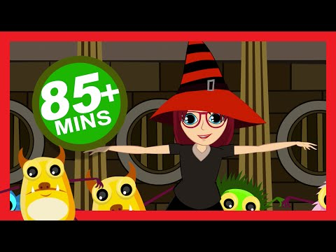 Halloween Songs for Children (Party with The Dracula Song)   Kids Hut