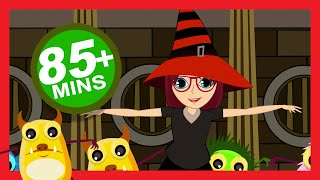 Halloween Songs for Children (Party with The Dracula Song) | Kids Hut
