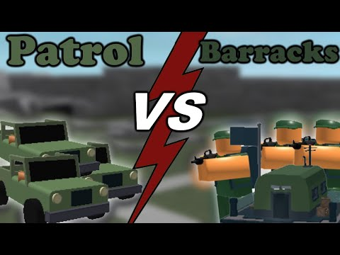 Patrol VS Barracks