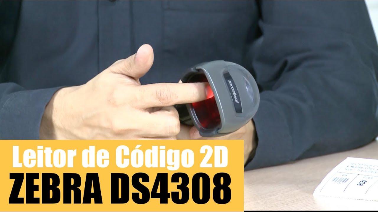 Automação Comercial e AIDC Leitor 2D Manual Zebra DS2208