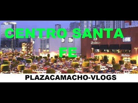 EL CENTRO COMERCIAL MAS GRANDE DE MEXICO.  centro santa fe.