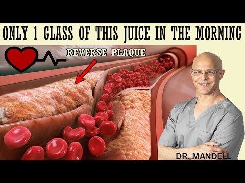 1 GLASS OF THIS JUICE IN THE MORNING...REVERSE CLOGGED ARTERIES & LOWER HIGH BLOOD PRESSURE
