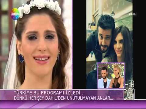 Her Şey Dahil Ankaralı Yasemin Gelinlik 9 Nisan 2014