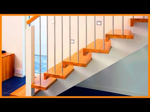 Beautiful Stairs Ideas Designs Best Stair Design For House   Inner Steps Design For House   Contemporary   Ultra Modern   Metal Staircase   Double Storey   Side Wall