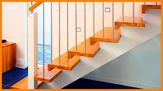 Beautiful Stairs Ideas Designs Best Stair Design For House | Small House Ladder Design | Low Cost | Small Residence | Middle Class Duplex House | Small Living Room Stair | Simple