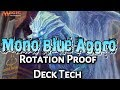 Mtg Budget Deck Tech: $20 Mono Blue Aggro (Standard, Rotation Proof)