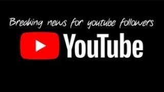 Important you tube channel announcement