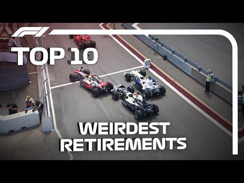 Top 10 Weirdest Race Retirements in F1