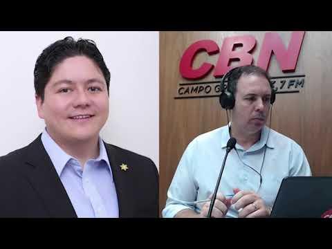 Entrevista CBN Campo Grande (31/03/2020) Roberto Oshiro, primeiro secretário da ACICG