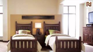 Kincaid 31-133p Stonewater Slat Bed Twin 3/3
