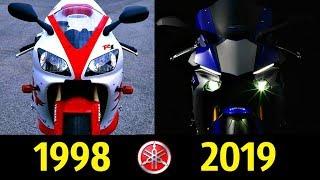 Yamaha YZF-R1 - Эволюция (1998 - 2019)  Обзор !