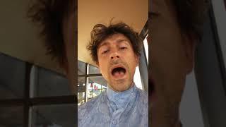 Marco in Japanese Shirt Burger King posing BK