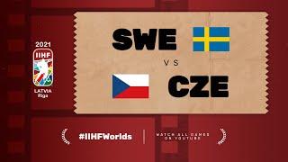 Highlights: SWEDEN vs CZECH REPUBLIC | 2021 #IIHFWorlds