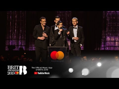 The 1975 win Mastercard British Album of the Year   The BRIT Awards 2019 Mp3