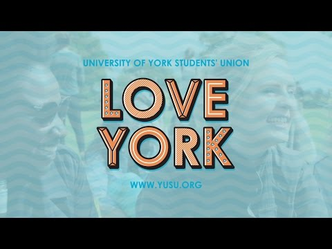 University of York Students' Union: Love York