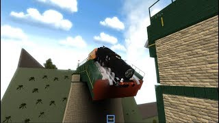 Thomas and Friends Thomas and the New Engine Accident in Roblox thomas the train