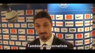 Zlatan Ibrahimovic Camera Man interview!