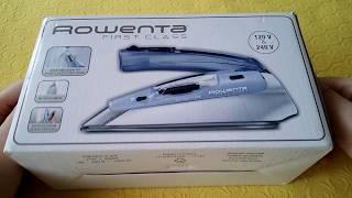 Праска Rowenta DA 1510 F1 Travel. Розпакування.