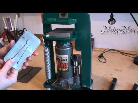 Tool Time Tuesday - Potter USA Pancake Die Cutting Press