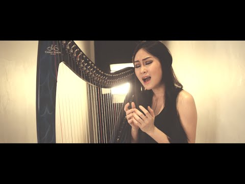 All I Ask - Adele (Vocal and Harp Performance by Angela July)