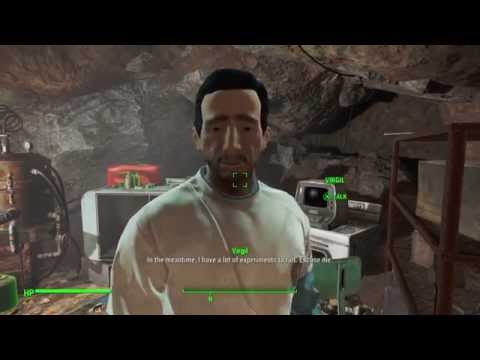 Fallout 4 - VIRGIL IS CURED - Experimental Serum Success